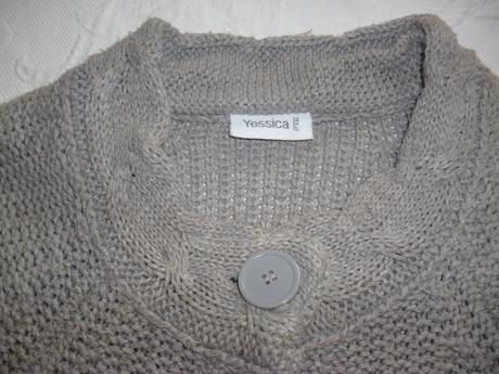 Sivy sveter, XL