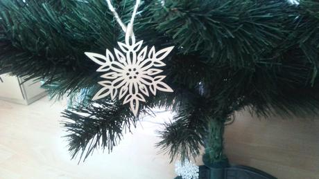 vianocne drevene ozdoby hviezdicky 10 ks,