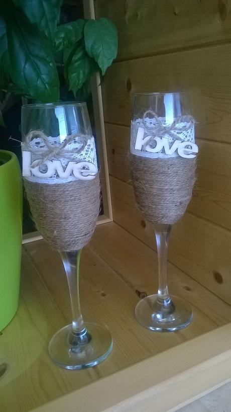 vintage poháre,