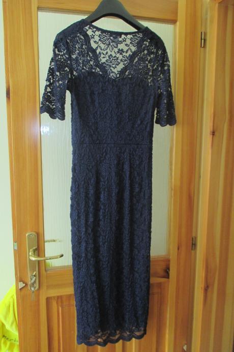 elegantné čipkované šaty, 36