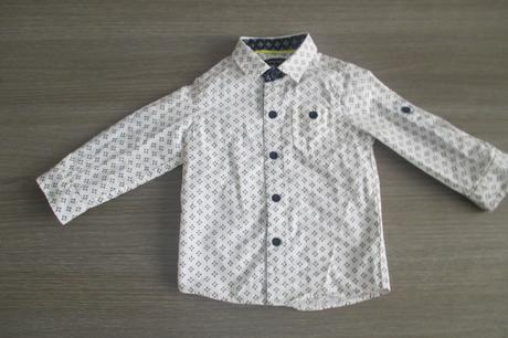 frajerská košeľa  12-18 mes., 80