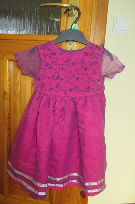 šaty pre malú družičku 12- 18 mes., 86