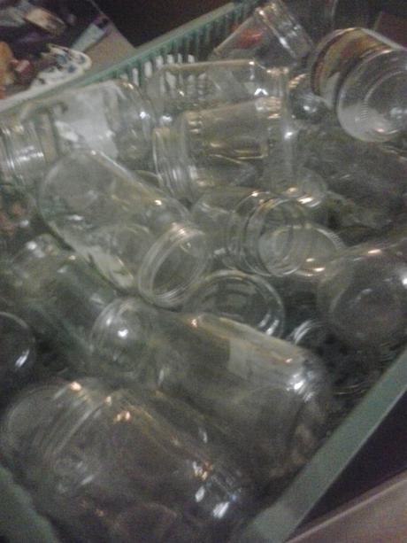 Zaváraninové poháre rôzne druhy,