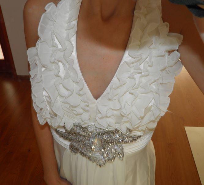 Prekrásne dlhe spoločenské šaty č. 34 xs f9605f287f5