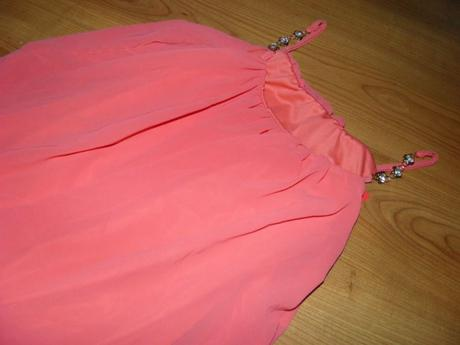 ružovo-lososová tunika, 36