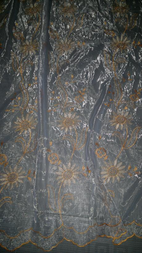 Medená záclona 300x185 ,