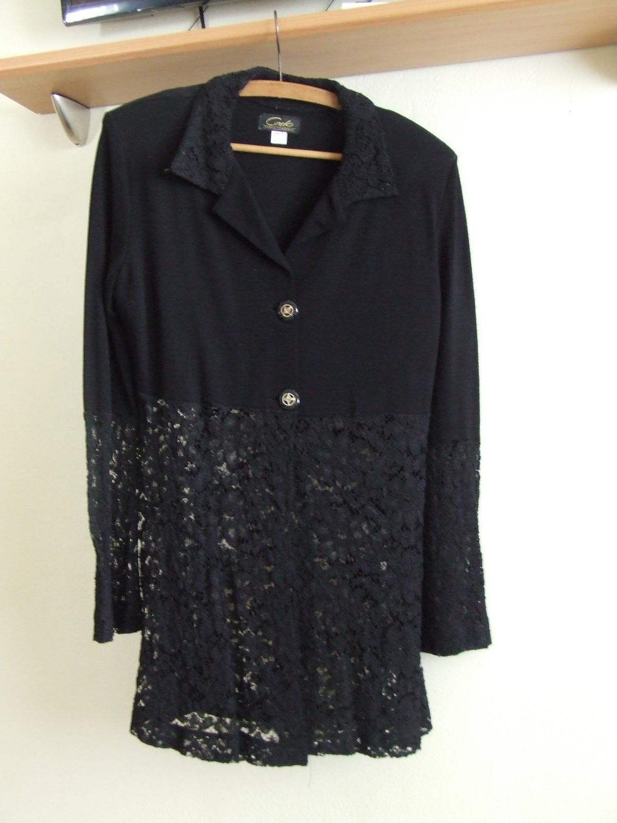 8305bc53b5aa Čierny nohavicový kostým s čipkou