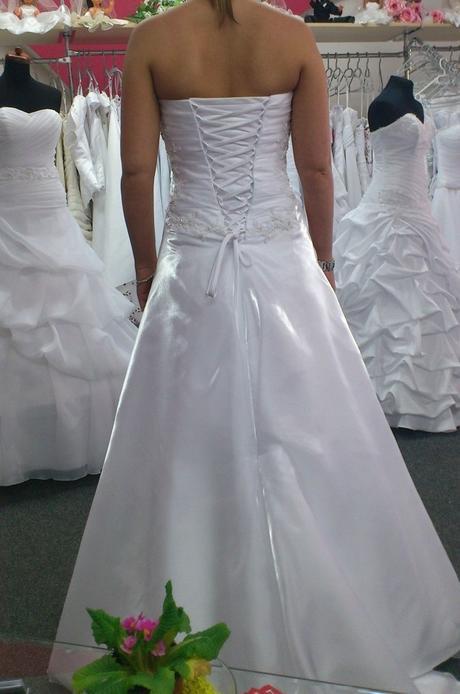Bílé korzetové svatební šaty Agnes , 34