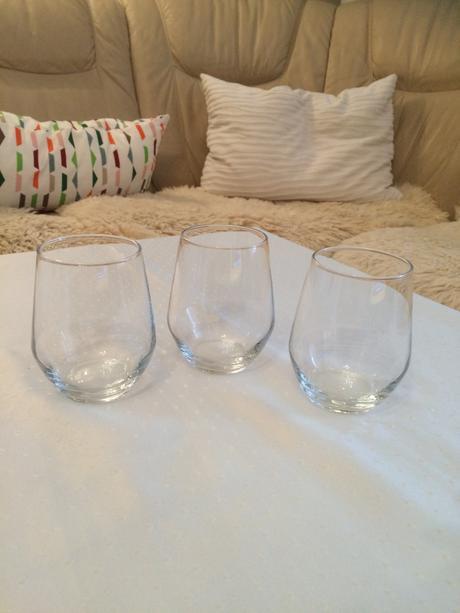 Súprava váz (minimalizmus, biela/číra farba),