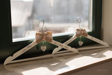 Svatební ramínka,
