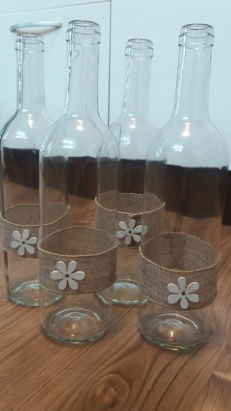 Vázy - vinné lahve,