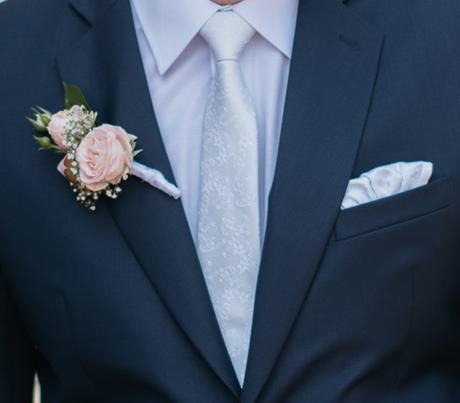 Značková pánská kravata s kapesníčkem,
