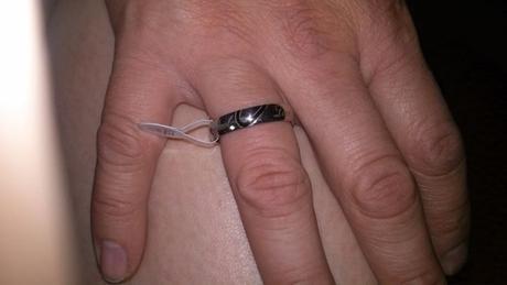 originální snubní prsteny ch.ocel nepoužité, sleva,