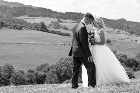 Svadobné šaty čipka a tyl 36-38, 38