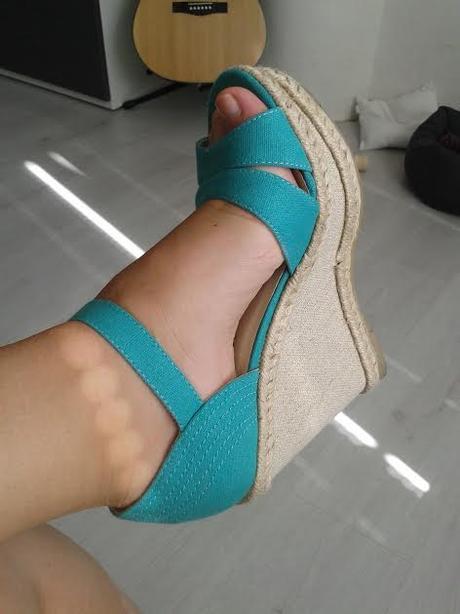 zelene sandalky, 36