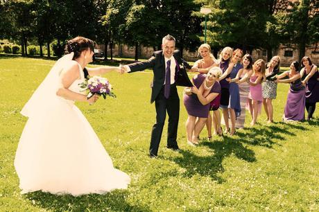 Svatební šaty díky šněrování vel 42-46, 44