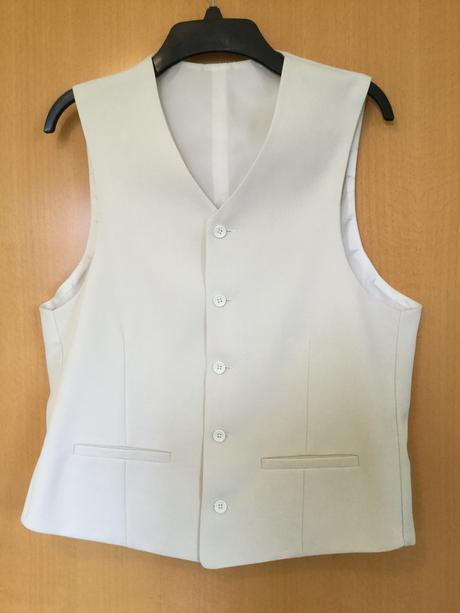 Pánský 3-dílný svatební / společenský oblek , 52