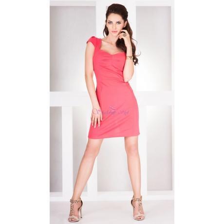 Korálové spoločenské šaty, 36