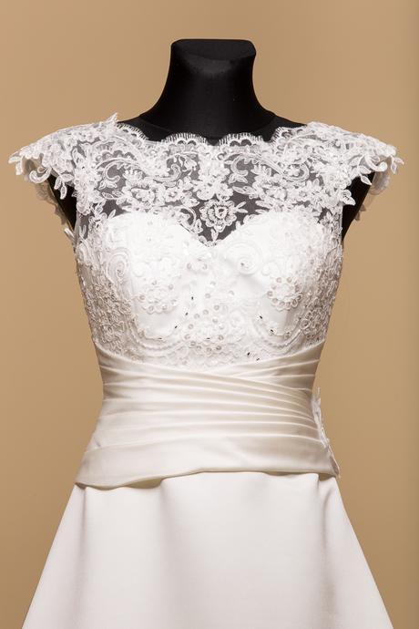 Svadobné šaty Madeline, 40