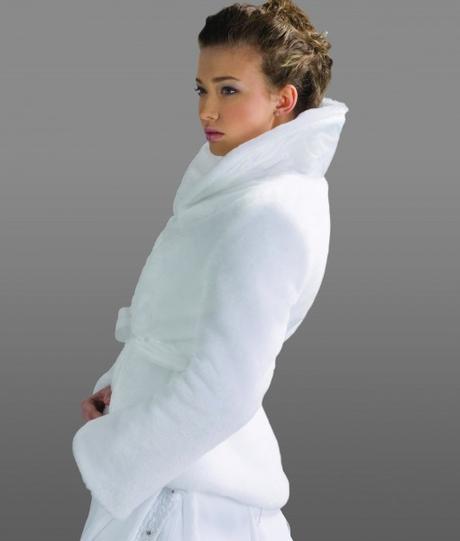 Svadobný kabátik B107,