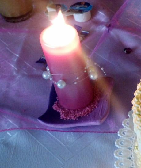podtácky na sviečku,