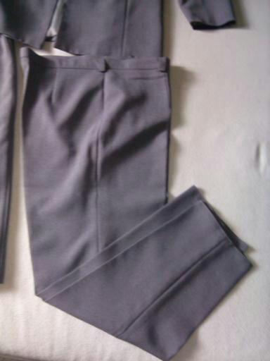 3-komplet - sako, nohavice, sukna + darček, XXL