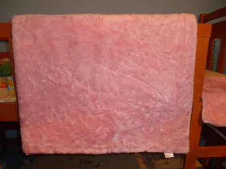 Veľká ružová deka, alebo prehoz na posteľ+obliečka,