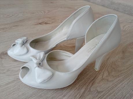Svadobné topánky Klaudia (2461), 37