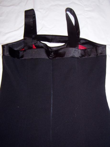 čierne spoločenské šaty Chantal veľ. 40, 40