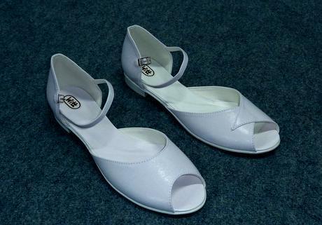 Svatební obuv bez podpatků, 42