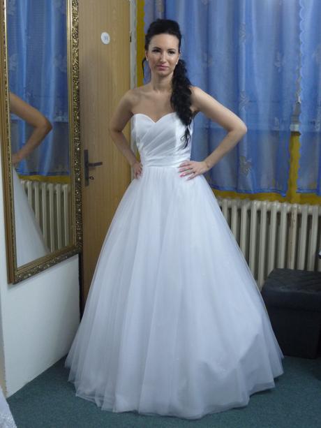 Tylové šaty značky Marys model Magnolia, 38