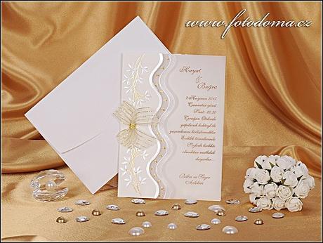 Svatební oznámení 0839 www.mottak.cz,