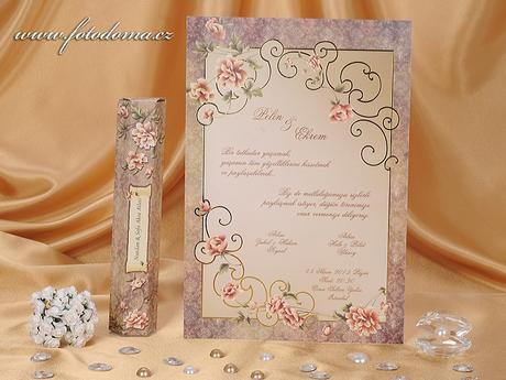 Svatební oznámení 0879 Mottak.cz s.r.o.,