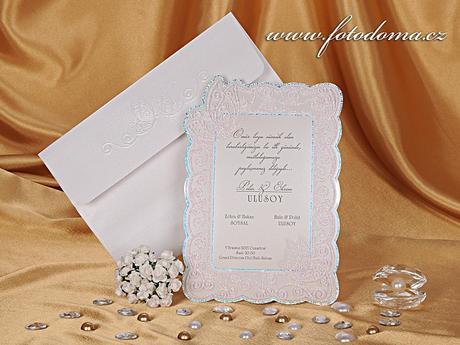 Svatební oznámení 0883 www.fotodoma.cz,