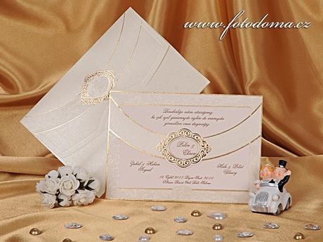 Svatební oznámení 0890 www.fotodoma.cz,