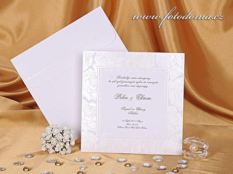 Svatební oznámení 0899 www.fotodoma.cz,