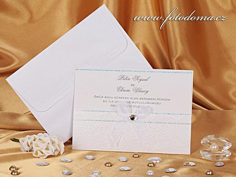 Svatební oznámení 0903 www.fotodoma.cz,