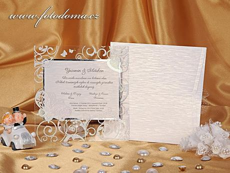 Svatební oznámení 0919 www.fotodoma.cz,