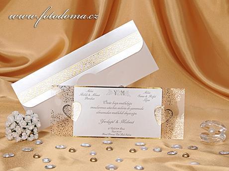 Svatební oznámení 0923 www.fotodoma.cz,