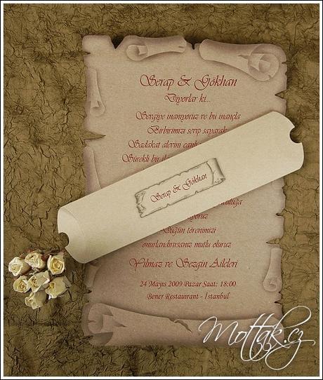 Svatební oznámení 2468 www.mottak.cz,