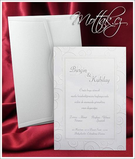 Svatební oznámení 2573 www.mottak.cz,