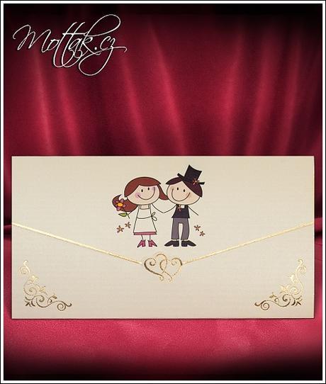 Svatební oznámení 2727 Mottak.cz s.r.o.,