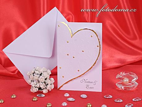 Svatební oznámení 3138 www.fotodoma.cz,