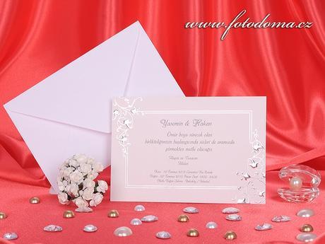 Svatební oznámení 3161 www.fotodoma.cz,