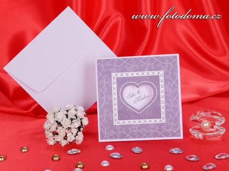 Svatební oznámení 3167 www.fotodoma.cz,