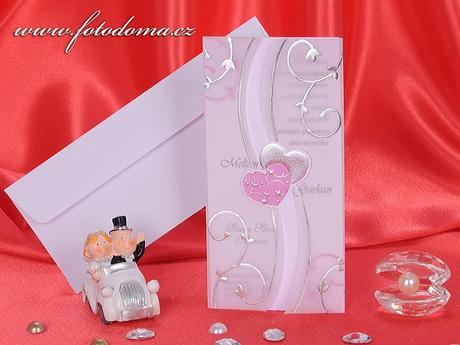 Svatební oznámení 3176 www.fotodoma.cz,