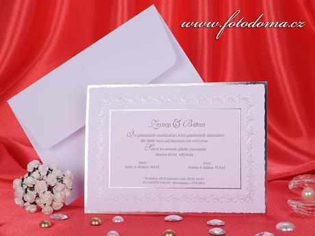 Svatební oznámení 3181 www.fotodoma.cz,