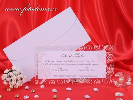 Svatební oznámení 3204 www.fotodoma.cz,