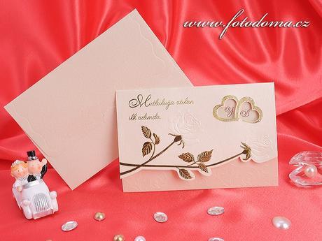 Svatební oznámení 3205 www.fotodoma.cz,