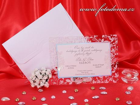 Svatební oznámení 3206 www.fotodoma.cz,